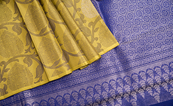 Borderless Exclusive Kanchipuram silks