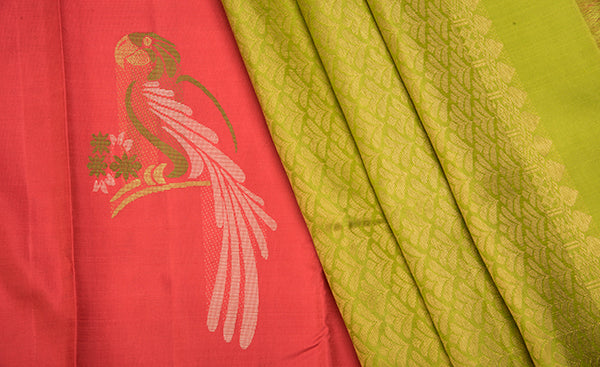 Ombre Collection - Pure Kanchipuram Silk Saree