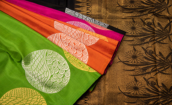 Doodil Collection - Kanchipuram Silk Saree