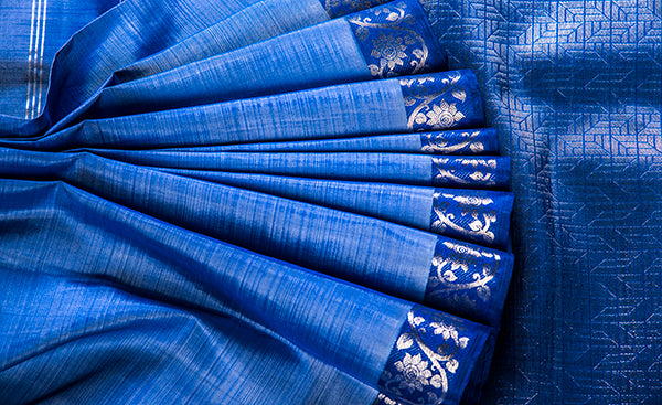 Aurora Collection - pure Kanchipuram silk saree