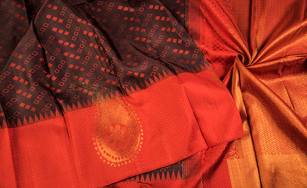 Offbeat Kanchipuram Silk Saree