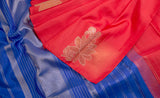 Copper Glow Silk - Kanchipuram Silk Saree