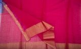 Multicoloured Pochampalli Silk Cotton Saree