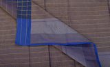 Cobalt Blue Semi Silk Cotton Casual Saree
