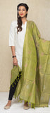 Light Olive Green Kora Silk Dupatta