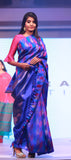 Corporate: Royal Blue Pure Kanchipuram Handloom Silk Saree