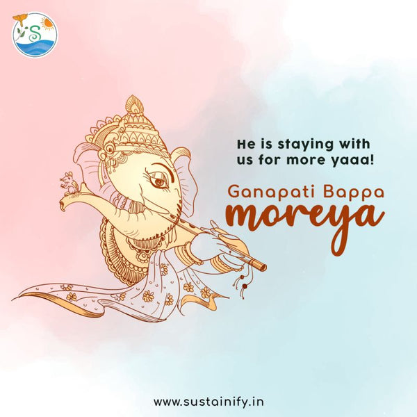 Saying ''More-yeah'' for Eco-Friendly Ganesh Visarjan