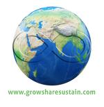 Infinite Earth - www.Growsharesustain.com Logo