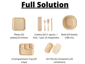 Sustainify Your TABLEWARE - Sustainify