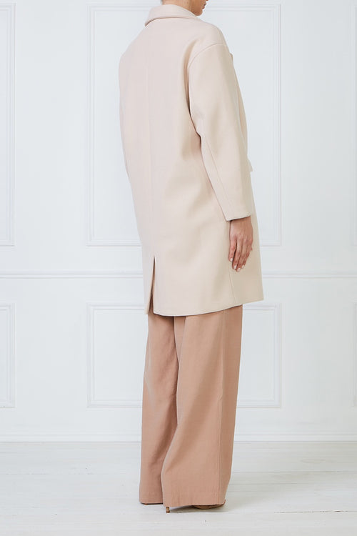 Next Pearl Long Coat - Soft Pink