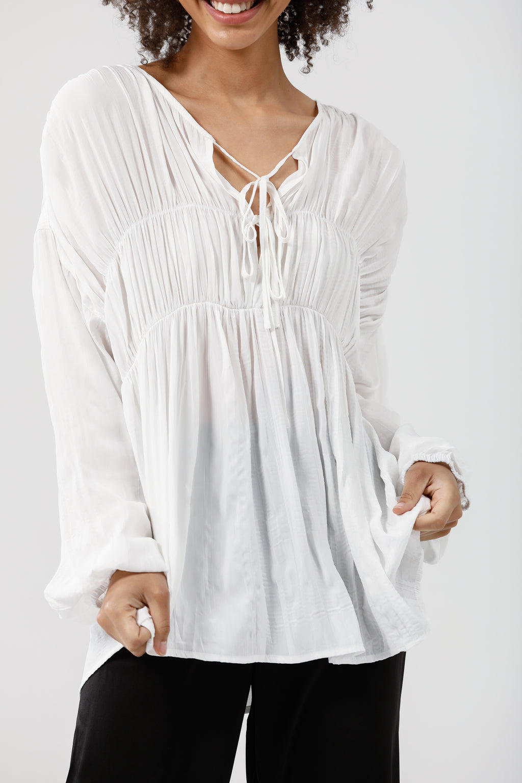 Brave & True - Arabella Shirt White