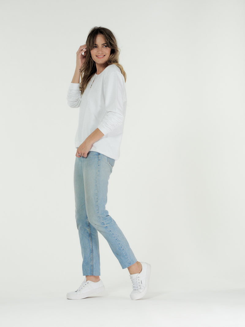 Clé - Lucy Sweater White