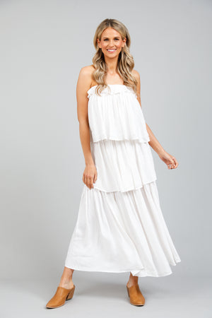 Holiday Elysian Dress- White