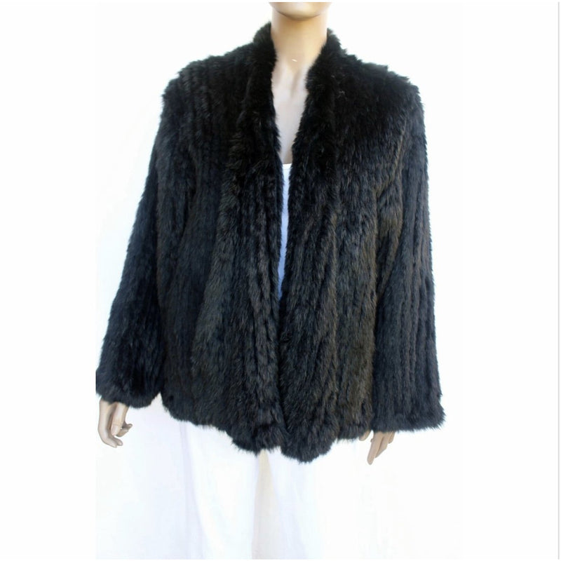 Fur Jacket - Black