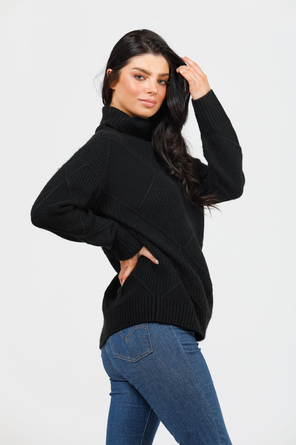 Shanty - Trevi Knit Black