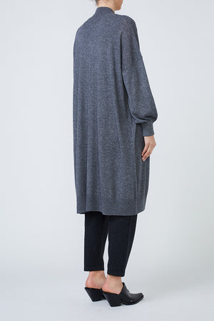MAINE CARDIGAN - GREY