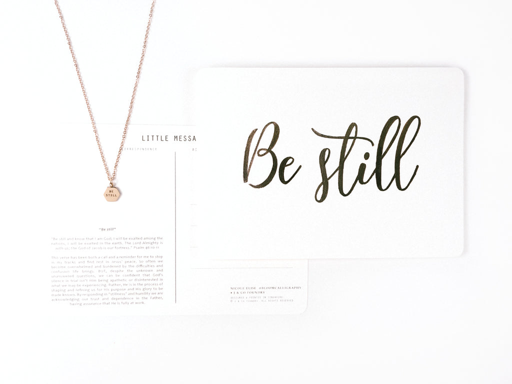 J & Co Foundry Collaboration with Nicole Elise @bloomcalligraphy