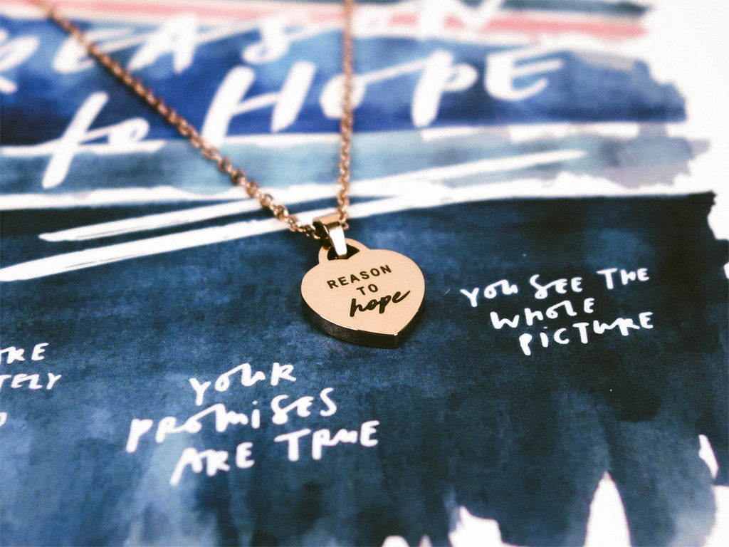 Reason To Hope | Heart Necklace