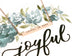 Joyful in Hope | Bar Necklace