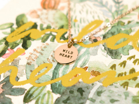 Wild Heart | Round Necklace