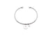 Minimalist jewellery bracelet design with engraving joy