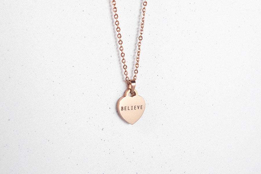 Heart | Necklace | Personalise