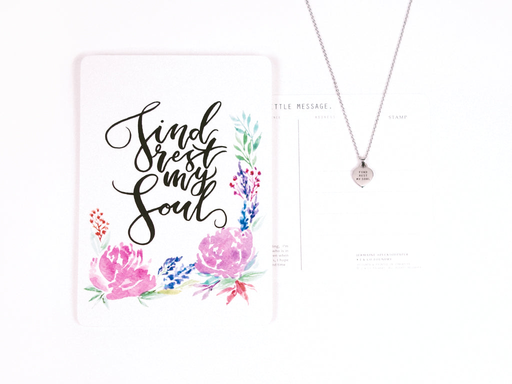 Collaboration Jewelry and Calligraphy to Inspire and Encourage
