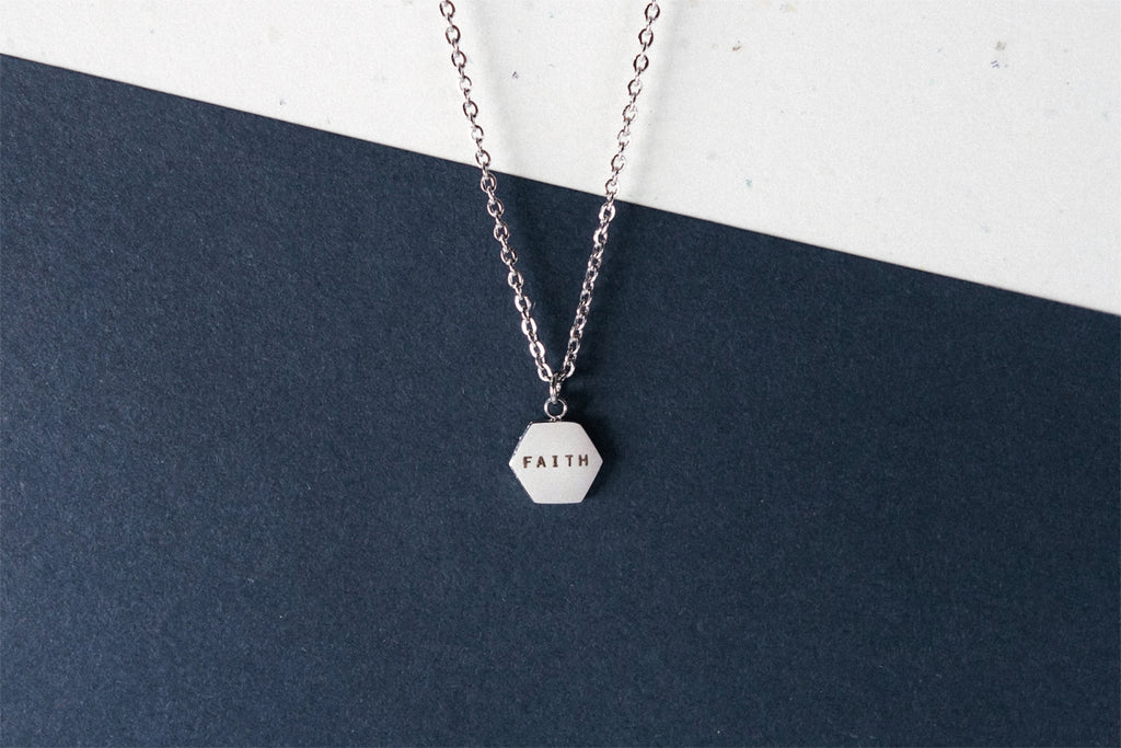 Hexagon | Necklace | Personalise