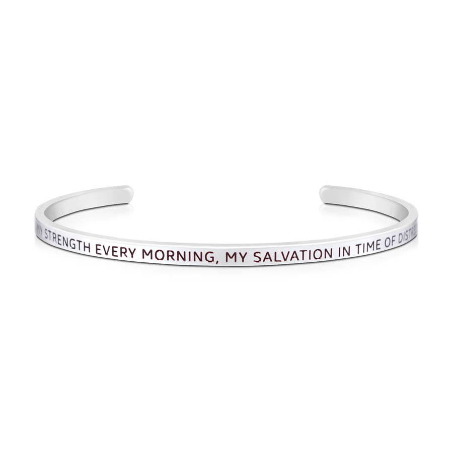 Be My Strength Every Morning {Verse Band}