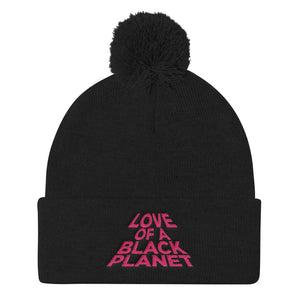 Open image in slideshow, Love Of A Black Planet Pom Pom Knit Cap
