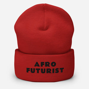 Open image in slideshow, AfroFuturist Cuffed Beanie