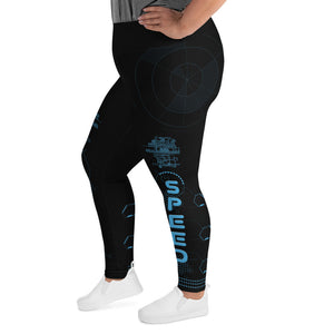 Faster Than... Female Leggings 2XL-6XL