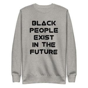 Open image in slideshow, Black In The Future Fleece Pullover