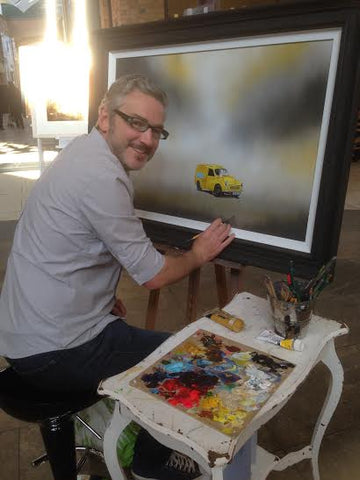 Adam Barsby Artist At The Acorn Gallery, Pocklington