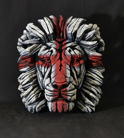 England-Lions-Head-Facepaint-Sculpture