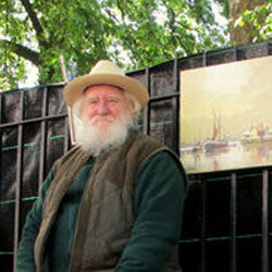 David James Artist At The Acorn Gallery, Pocklington