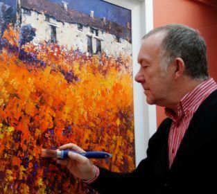 John Horsewell Artist At The Acorn Gallery, Pocklington