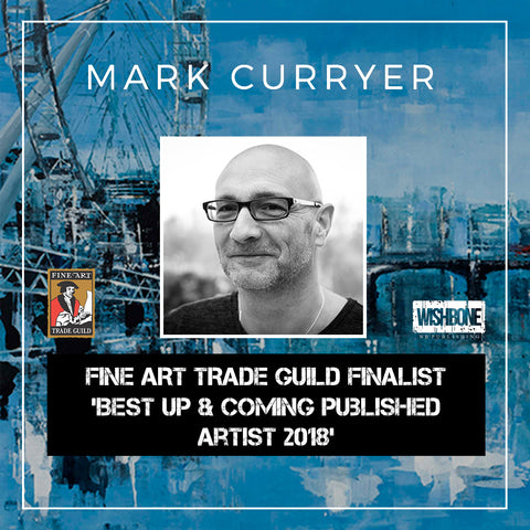 Mark Curryer Fine Art Trade Guild Finalist Best Up And Coming Published Artist 2018