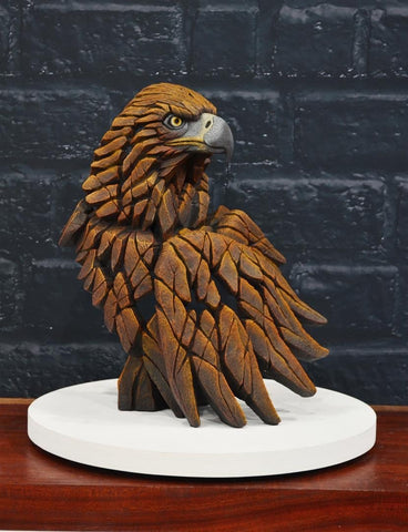 Golden Eagle by Edge Sculpture *NEW*-Sculpture-EDGE-Sculpture-Matt-Buckley-artist-The Acorn Gallery
