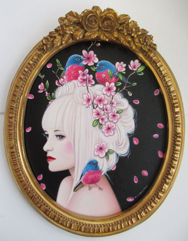 Miss Sakura Original by Marie Louise Wrightson