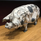 Scarlett Ceramic Gloucester Old Spot Pig by Christine Cummings *SOLD*