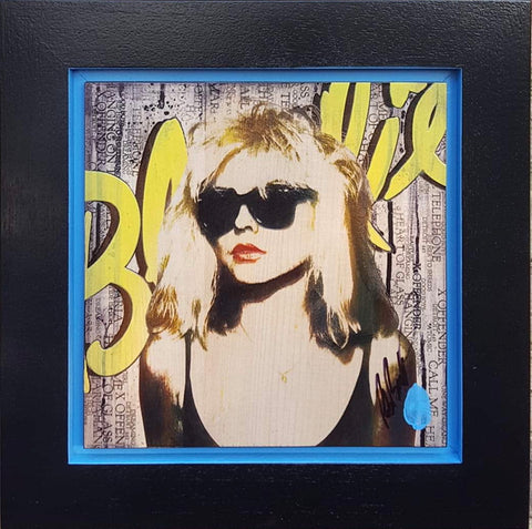 Mini Debbie Harry (Blondie) by Rob Bishop