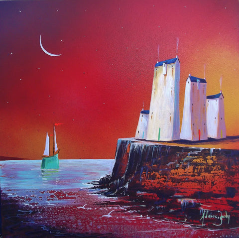 Edge Of The World Original by Adam Barsby *SOLD*