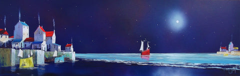 Into The Blue Original by Adam Barsby *SOLD*