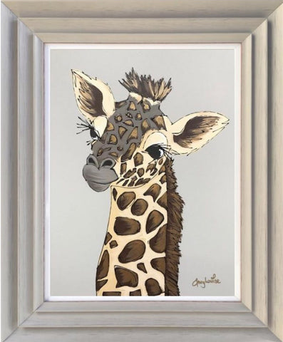 Giles (Giraffe) Original by Amy Louise *SOLD*-Original Art-Amy Louise-artist-The Acorn Gallery