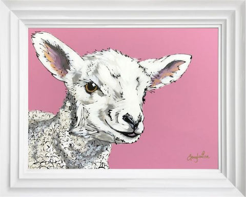 Mary (Lamb) Original by Amy Louise *NEW*-Original Art-Amy Louise-artist-The Acorn Gallery