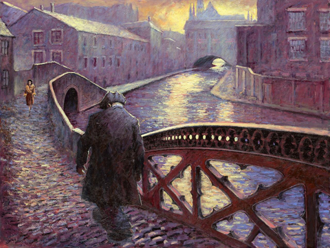 Along The Canal by Alexander Millar *NEW*