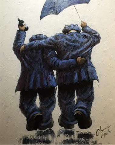 Braving The Storm Original by Alexander Millar