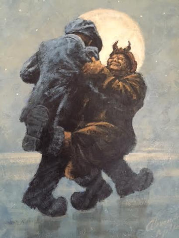 Dance With The Devil Original by Alexander Millar *SOLD*