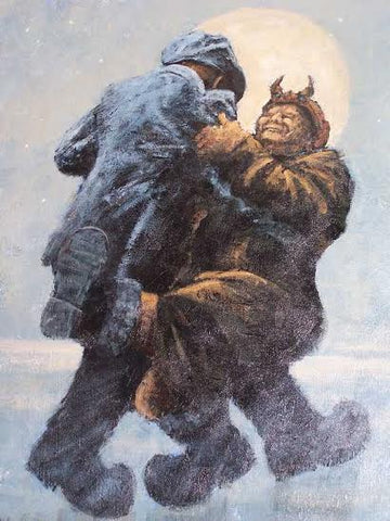 Dance With The Devil Original by Alexander Millar *SALE*